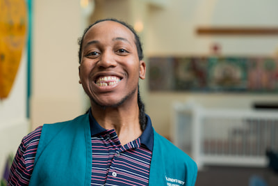 An alumnus of the Children's Mercy Transition to Adulthood program.
