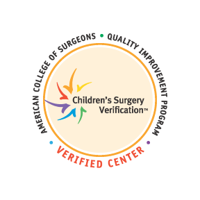 Children's Mercy is a verified Children's Surgery Center by the American College of Surgeons