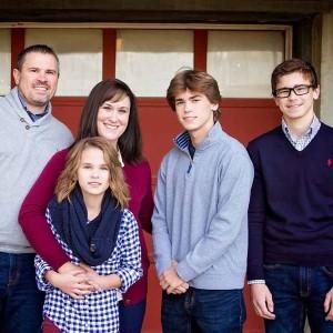 Nikki Esser with family
