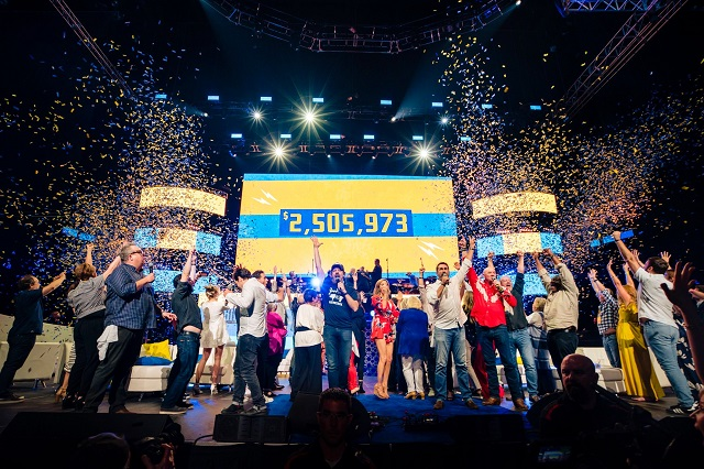 The Big Slick Celebrity Weekend raises record breaking amount for Children's Mercy.