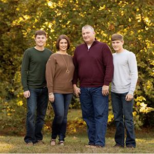 Angie Richardson with dog