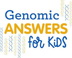 Genomic Answers for Kids logo