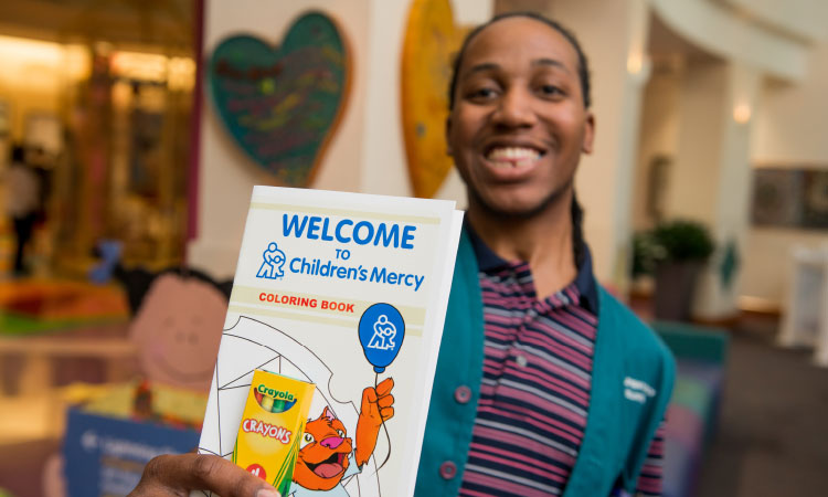 Become a college student volunteer at Children's Mercy.
