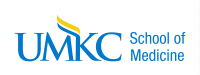 "UMKC logo reads, ""UMKC School of Medicine"""
