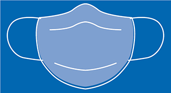 Graphic of facemask