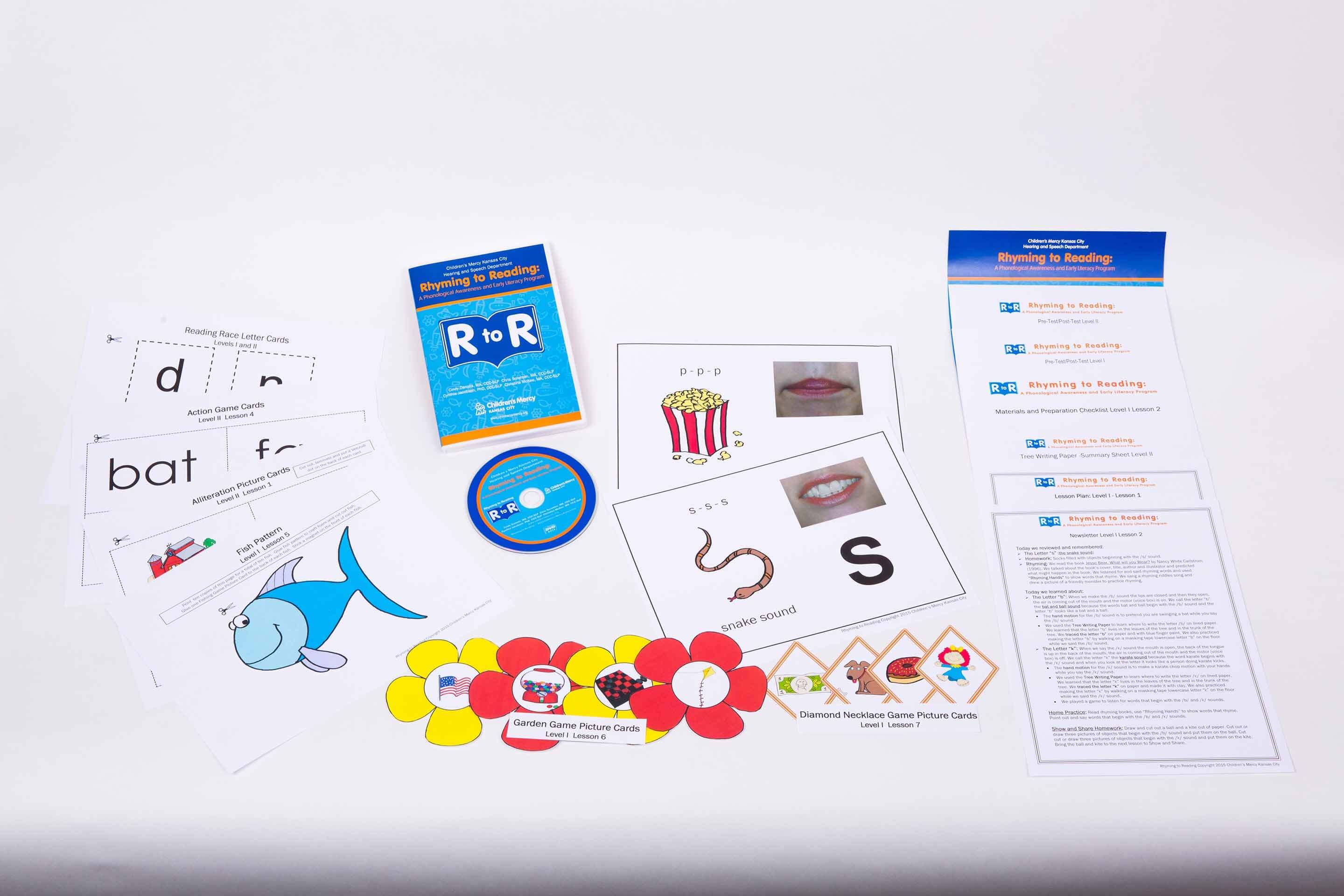For Educators: Rhyming to Reading DVD Package