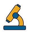 Illustrated microscope