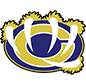"William Chrisman High School logo: Bear paw with claws holding a ""C."""