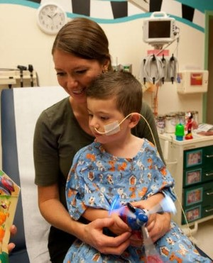 Children's Mercy patient with NG tube