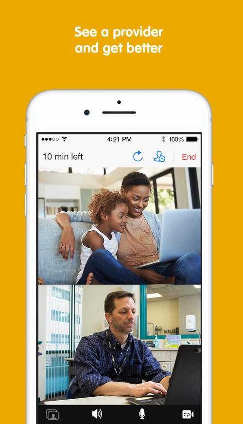 See a provider and get better with the KidCare Anywhere App at Children's Mercy.