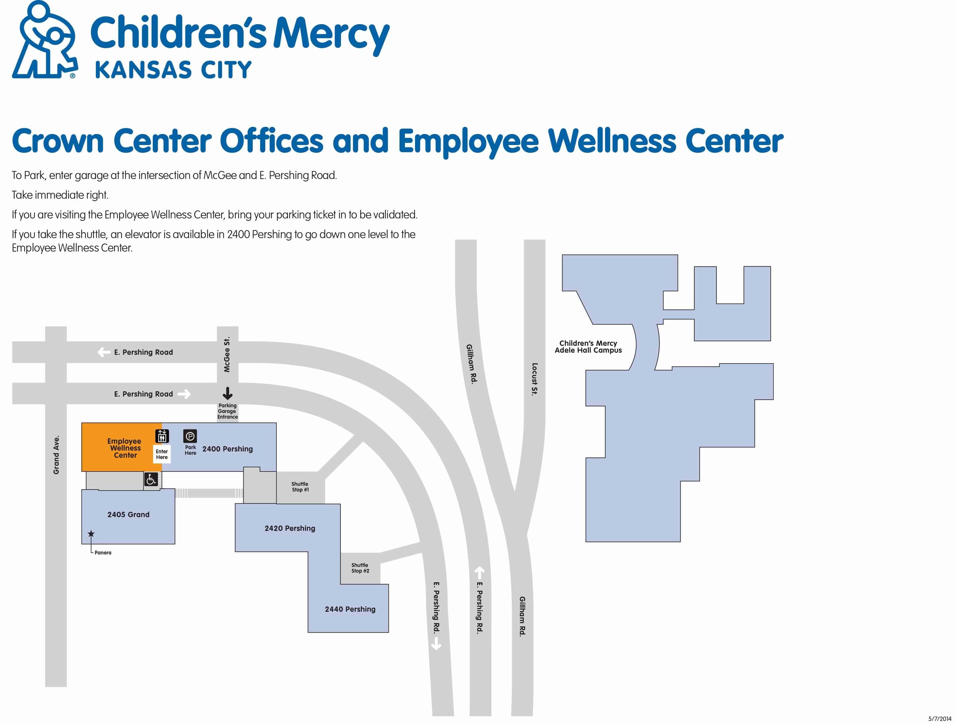 Appointments, Hours and Parking | Children's Mercy Kansas City