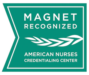 Magnet Recognized by American Nurses Credentialing Center Logo