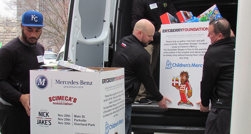 Give back by donating goods to children and families at Children's Mercy when they need it most.