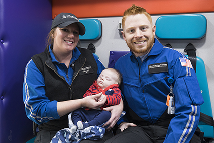 Meet Matthew, a Critical Care Transport patient at Children's Mercy.