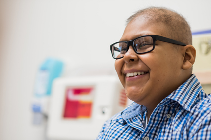 Meet Miqueas Valdez Cisneros, a patient in the Cancer Center at Children's Mercy.