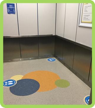 Inside a Children's Mercy elevator