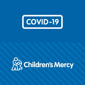 COVID-19 and Children's Mercy logo